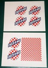 "2 SHEETS OF PURINA GRAIN ELEVATOR STICKERS  (8.5"" X 11"")   O scale On30 On3   D"