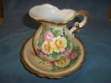 Lefton China Pitcher and Bowl SL-764-2