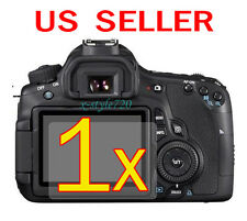 1x Canon EOS 60D Clear LCD Screen Protector Guard Shield Film