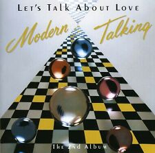 Let's Talk About Love - Modern Talking (1998, CD NUEVO)