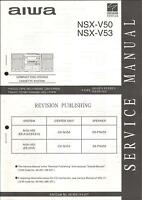 Aiwa Original Service Manual für NSX-V 50 / 53