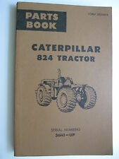 1966 CATERPILLAR 624 TRACTOR 36H1-UP PARTS BOOK MANUAL