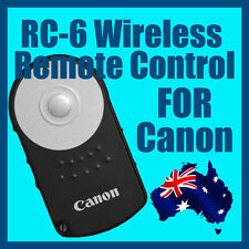 RC-6 Wireless Remote Control for Canon Digital Cameras 5D 6D 7D 60D 600D 550D