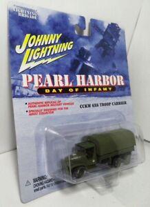 Johnny Lightning Pearl Harbor Day of Infamy GMC Deuce 2.5 CCKW 6x6 Troop Carrier
