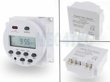 Lcd digital power switch hebdomadaire minuterie programmable 12V dc/ac 16A CN101A