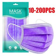 10/20/30/50/100/200PC Face Mask Anti Haze Outdoor Air Purifying Masks For Adult
