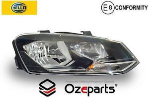 HELLA VW Volkswagen Polo 6R 14~17 81TSi RH Right Head Light Lamp (ComfortLine)