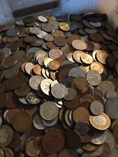 Interesting Mixed Bulk Lot of 100 Assorted Coins From Around the World!