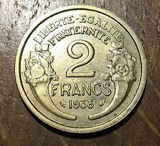 PIECE DE 2 FRANCS MORLON 1938 (125)