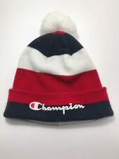 d03cae82dc9a9 Champion USA Basic Cuff Knit Red White Blue Winter Pom Skully