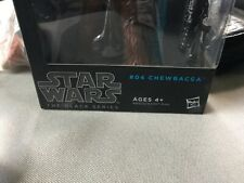 Hasbro Star Wars The Black Series 6 Inch Chewbacca Action Figure