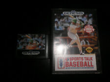 Mega Drive -  sports talk baseball  - boxed