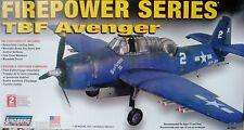 Lindberg 75312 TBF Avenger * FIREPOWER SERIES - 1:48 Modello Kit Nuovo