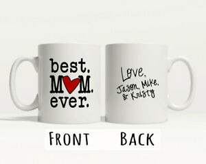 New Christmas Gift for Best Mum Ever Mug Gift Special Mum World Tea Coffee Cup
