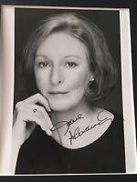 GENUINE HAND SIGNED JANE ALEXANDER 'KRAMER V KRAMER' PORTRAIT PHOTO