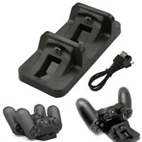 Dual Controller Charger Dock Station For PlayStation PS4 USB Charging Stand NewR