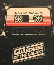 "Matt Ferguson ""Guardians of the Galaxy Vol 2"" mini Print poster marvel infinity"