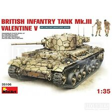 MiniArt 35106 British Infantry Tank Mk.iii Valentine V With CRE 1 35