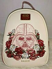 Loungefly Star Wars Darth Vader Floral Mini Backpack NWT