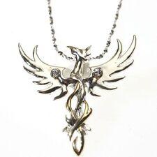 Nuevo Sol Phoenix plata esterlina 925 Cristal Colgante Collar Anne Stokes Místico