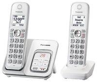 Panasonic Expandable Cordless Phone w/ Call Block & Answering (KX-TGD532W)™