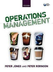 Operations Management by Peter Robinson, Peter Jones (Paperback, 2012)