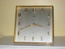 """LUXOR Clock 8 Day Swiss Made Modernist Art Deco Desk Clock 6"""""""