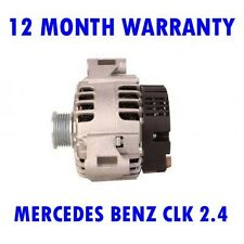 MERCEDES BENZ CLK 2.4 3.2 2002 2003 2004 2005 - 2010 ALTERNATOR