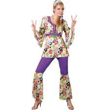 Hippie Chick Plus Size Large 18-20 Hippy Trouser Suit Fancy Dress Ladies Costume