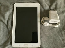 Samsung Galaxy Tab E Lite SM-T113 8GB, Wi-Fi, 7 inch Tablet w 2GB SD- White