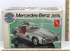 Vintage AMT 1:25 Mercedes-Benz 300SL Model Kit T412 German Grand Touring Coupe
