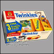 Fridge Fun Refrigerator Magnet HOSTESS TWINKIES Box -Photo A- Retro Food DIE-CUT