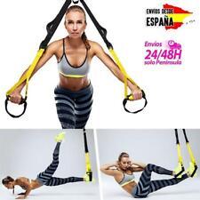 TRX para entrenamiento en suspensión kit de correas para fitness ejercicio casa