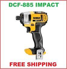 DEWALT 20 Volt Max Impact Driver With Belt Clip # DCF885