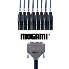 D-Sub Serial DB25 to XLR Male | Mogami Analog Tascam 8 Way Multicore Snake Loom