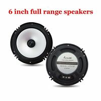 6.5 inch car audio frequency speakers horn Subwoofer Full range loud speakers