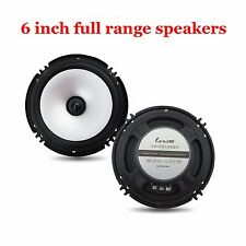 6.5 inch car audio frequency speakers horn Subwoofer Full range loud speakers