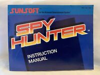 Spy Hunter - Nintendo NES - Manual Only
