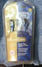 14 Foot CAT 6 Cable Ethernet Lan Network RJ45 Patch Cord Internet Blue