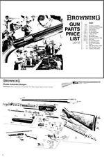 Browning 1972 Gun Parts List