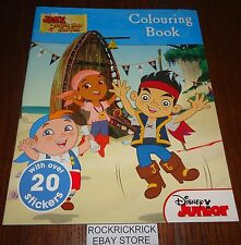 JAKE AND THE NEVER LAND PIRATES - COLOURING AND STICKER BOOK