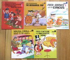 Lot 5 FLINTSTONES & MAGILLA GORILLA Hanna Barbera Books 1970s vintage L1