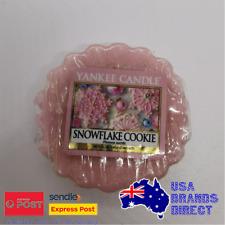 Yankee Candle - Single Wax Fragrance Melt Tart - Snowflake Cookie