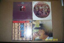 Lot of 4 Vintage Pre Owned Vinyl Lp Albums:Nelson, Pride, Davis, 25 great hits