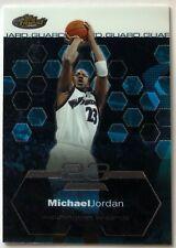 MICHAEL JORDAN 2002-03 Topps Finest #100  NBA  CHICAGO BULLS Washington Wizards