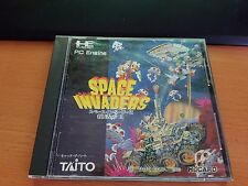 NEC PC ENGINE SPACE INVADERS HUCARD CORE/SHUTTLE/R/RX