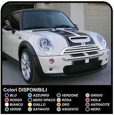 MINI COOPER kit strisce adesive COFANO s r53 Cooper S ONE compatibile per mini