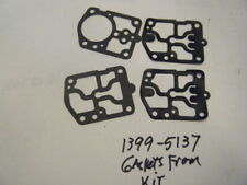NEW GASKETS / DIAPHRAGM FROM QUIK SILVER             PART NUMBER 1399-5137
