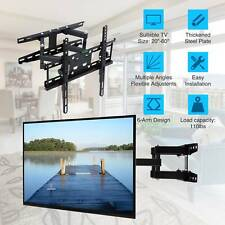 Full Motion Articulating TV Wall Mount LED LCD Plasma 20 28 39 42 46 48 55 60""