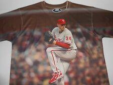 Three60 Gear Philadelphia Phillies Roy Halladay Baseball Shirt X-Large